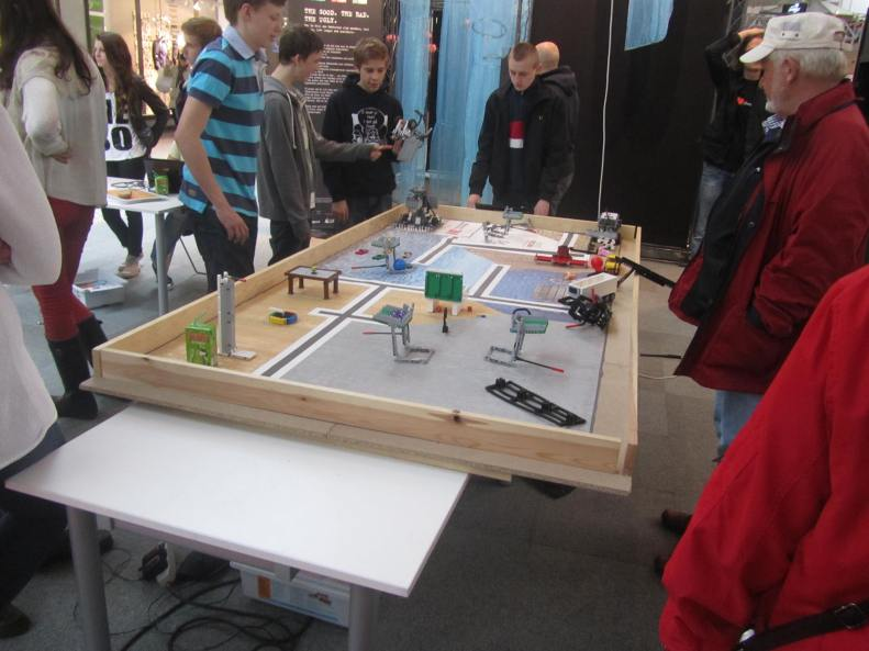 Robotbygge i Nordstan
